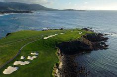 longing course Pebble Beach Golf Links