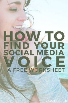 How to Find Your Social Media Voice (+ A Free Worksheet)