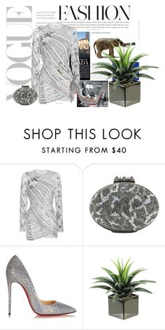 """Untitled #7071"" by tailichuns ❤ liked on Polyvore featuring Elie Saab and Christian Louboutin"