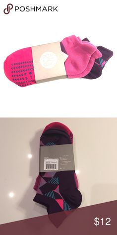 Barre Sock & Running Sock Combo - Purple & Pink Barre Sock & Running Sock Combo - New Pointe Studio Other