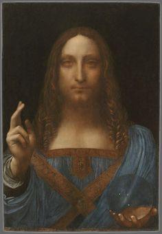 Leonardo da Vinci: Salvator Mundi, ca. 1500