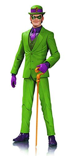 DC Comics Designer Series Greg Capullo Action Figure The Riddler *** Be sure to check out this awesome product. (This is an affiliate link) #DCComics