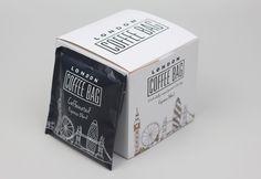 London Coffee Bag – Packaging Design & Web Design In Shropshire