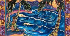 """""""Hula Wave"""" by Kim McDonald at Maui Hands"""