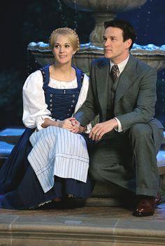 Carrie Underwood & Stephan Moyer as Maria Von Trapp and Captain Von Trapp.