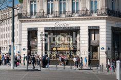 Cartier Store Champs Élysées Royalty Free Stock Photo