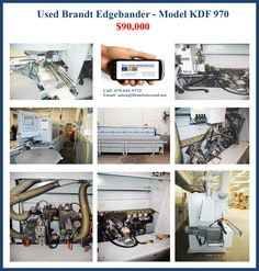 New and Used Industrial Woodworking Machinery and Equipment Used Woodworking Machinery, Used Woodworking Tools, Lean Manufacturing, Industrial, Model, Blog, Scale Model, Industrial Music