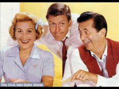 """Rose Marie, Dick Van Dyke and Morey Amsterdam in """"The Dick Van Dyke Show,"""" 1961-1966."""