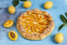 Apricot Fruit, Ricotta, Pie, Organic, Homemade, Fresh, Desserts, Food, Rustic