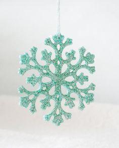 Snowflake decor
