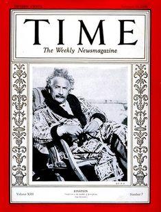 TIME Magazine Cover: Albert Einstein - Feb. 18, 1929 - Albert Einstein - Physicists - Science & Technology