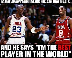 Jordan will always be the best!