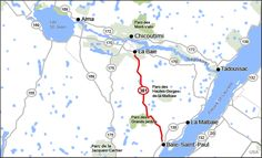 Route 381 Jacques Cartier, Malbaie, Routes, Top 5, Quebec, Canada, Passion, Map, Blog