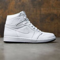 newest 5e604 e6e9a Air Jordan 1 Retro High OG Men (white   black-white)