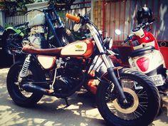 Honda CG 125 #bratstyle #motos #caferacer #japstyle