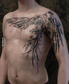Epic phoenix tattoo