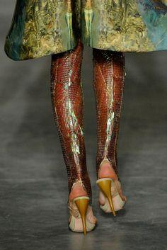 Alexander McQueen via Style.com
