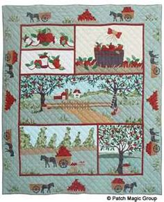Country Quilts - Apple Cart Quilt