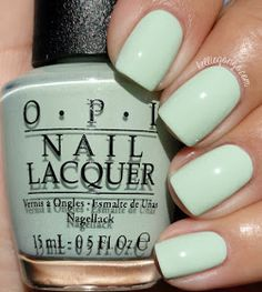 OPI This Cost Me A Mint // @kelliegonzoblog