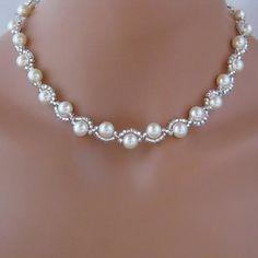 Női Európa divatos bizsu nyaklánc gyöngyből (1 db) - USD $ 12.99