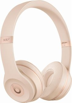 bf50933d346 Beats by Dr. Dre - Beats Solo3 Wireless Headphones - Matte Gold - Angle Zoom