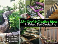 55  Cool and Creative Ideas In Raised Bed Gardening