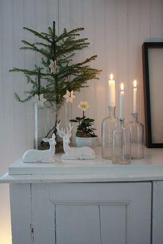 Bland betong och gammeldags pioner: God Jul / Christmas deco