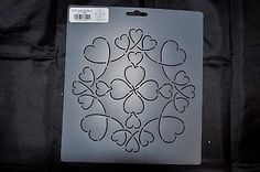 Stencil-Quilt-Art-BC122-Loopy-Heart-Block-7