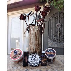 """Picked up some supplies at the Ventura Nationals.""- @lavida_califas #suavecitopomade #suavecitapomade #pomade #hairproducts #hair #products #styling #hairstyling #styles #suavecitalipsticks #suavecitalips #beauty #makeup #cosmetics #beardserum #serum #beards #flowers #artsy #instagood"