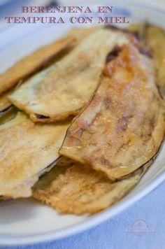 Berenjenas en Tempura - Ingredientes 5 cucharadas de aceite de oliva 1 diente…