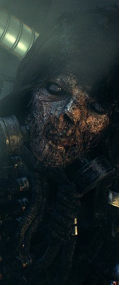 Arkham Knight Scarecrow / Again, totally destroying the crappy concept in Batman Begins.