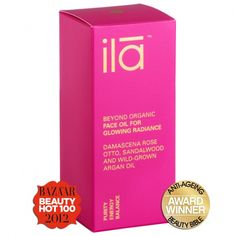 Face Oil for Glowing Radiance from ILA Spa