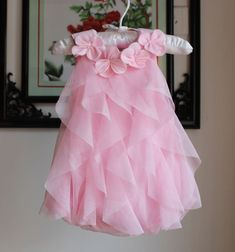 Baby Girl Summer Dress Toddler Girls Chiffon Birthday Party Dress New Style Baby Jumpsuits Clothing Infant Dresses