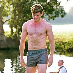 Hunk of the Week is... JAMES NORTON! Who else would it be?  #jamesnorton #grantchester #hunkoftheweek  Pic © ITV