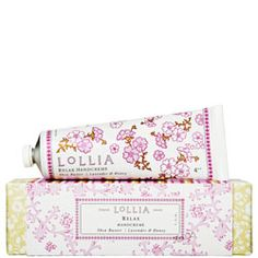 Lollia Shea Butter Hand Creme (Breathe~ peony and white lily)  Absolutely Wonderful!