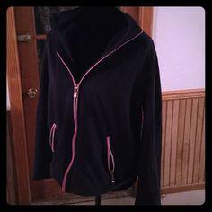 Pink and blue jacket Jacket, no hood, casual Tops Sweatshirts & Hoodies