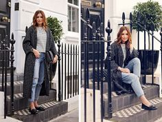 Get this look: http://lb.nu/look/7913448  More looks by Elena Sandor: http://lb.nu/eileen08  Items in this look:  French Connection Uk Coat, Topshop  Jeans, Zara Top, Moschino  Bag, Linzi Loafers   #casual #minimal #street #streetstyle #chic #fall #trends #loafers