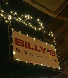 Billy's boutique facción