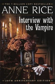 wonderful book and movie, interview with the vampire. anne rice's other books are also good, for the most part, but none beat this one.