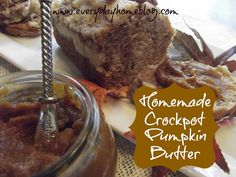 Easy Crockpot Pumpkin Butter.  If Fall had a taste, this would be it!  Makes great gifts.  Pin now, Make later!