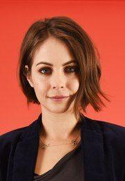 Willa Holland short hair asymmetrical bob