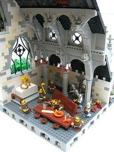 Great interior Lego Castle
