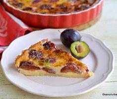Prajitura cu prune care a facut furori zilele acestea si a fost preparata de multi cititori ❤ Far breton aux prunes se numeste. #savoriurbane #prajituracuprune  ____❤❤❤___  Reteta in linkul de la profilul meu @oanaigretiu  ____❤❤❤___ #farauxprunes #farbreton #prajiturasimpla #prune #retetasimpla #retetarapida #frenchrecipe #instadessert Cacao Beans, French Toast, Breakfast, Food, Cakes, Canning, Fine Dining, Pie, Essen