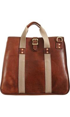 This J.W. Hulme day tote proves that a casual man can also be a stylish one