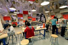 SITU STUDIO–Maker Space, New York Hall of Science | photo courtesy of the firm
