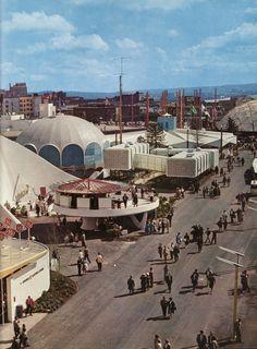 1962Seattle World' s Fair  Photo: Mike Roberts, Max Jensen, & Morley Studios. -Via