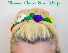 Make this floral bun wrap out of floral wire and felt. | 33 Irresistibly Spring DIYs.
