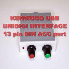 Kenwood-Digi-Interface-with-PTT-PSK-PSK31-FT8-SSTV-ALL-RADIO-with-13-PIN-DIN