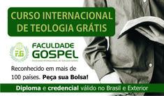 Bolsa Integral do Curso Internacional de Teologia Gospel