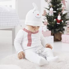 Snowman Baby Gift Set from The White Company